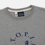 Мужская футболка Bleu De Paname Utopia Moll Zinc фото- 1