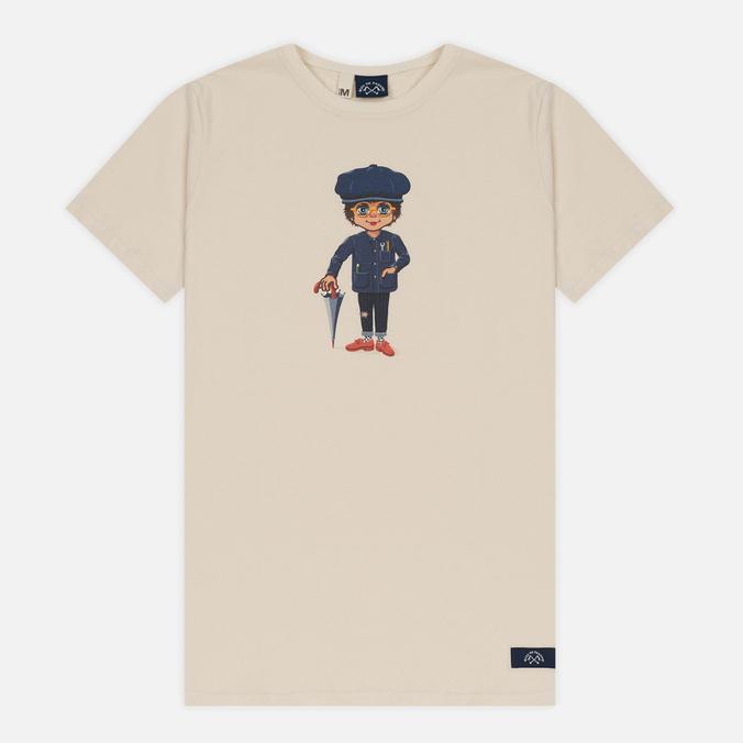 Мужская футболка Bleu De Paname x Pablo Cots Poulbot Sappeur Off White