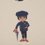 Мужская футболка Bleu De Paname x Pablo Cots Poulbot Sappeur Off White фото- 2