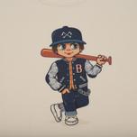Мужская футболка Bleu De Paname x Pablo Cots Poulbot Teddy Boy Off White фото- 2