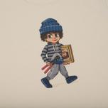 Мужская футболка Bleu De Paname x Pablo Cots Poulbot Voleur Off White фото- 2