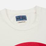 Мужская футболка Blue Blue Japan J4687 Big Circle Print Red фото- 1
