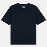 Мужская футболка Blue Blue Japan J5505 Glossy Navy фото- 0