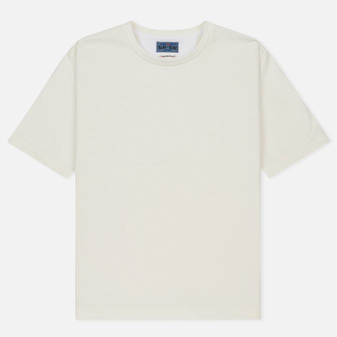 Мужская футболка Blue Blue Japan J5505 Glossy White