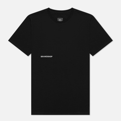 Мужская футболка BRANDSHOP Chest And Back Logo Black