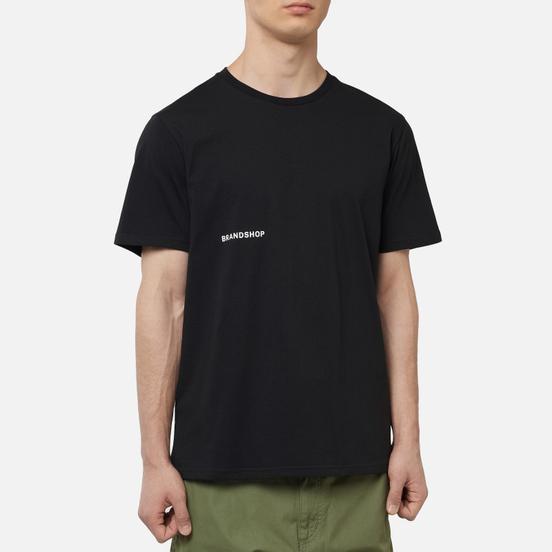 Мужская футболка BRANDSHOP Chest And Back Logo Black