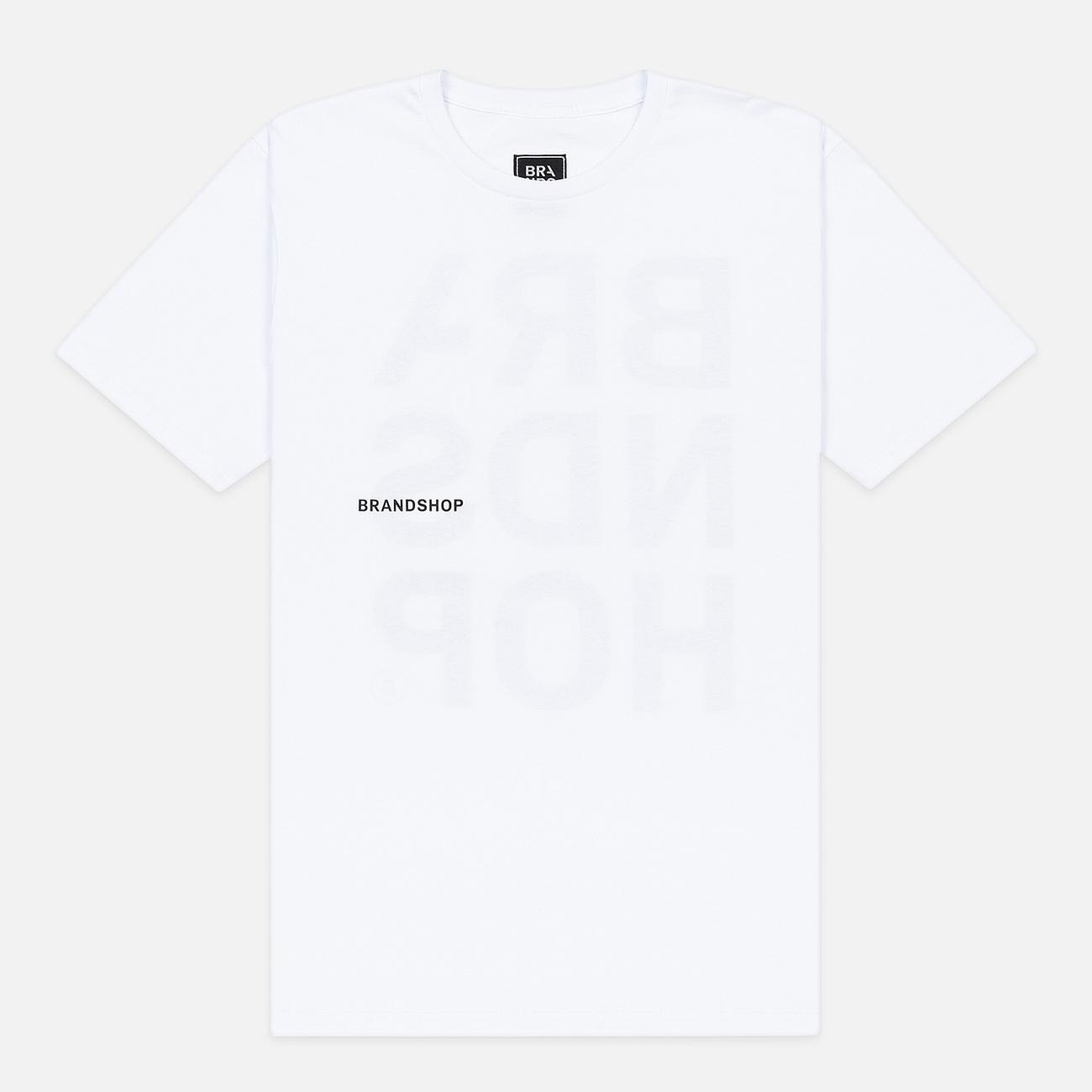Мужская футболка BRANDSHOP Chest And Back Logo White