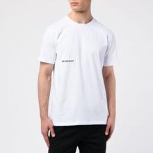 Мужская футболка BRANDSHOP Chest And Back Logo White фото- 2