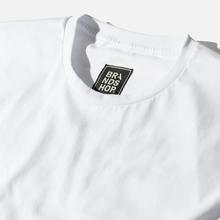 Мужская футболка BRANDSHOP Chest And Back Logo White фото- 1