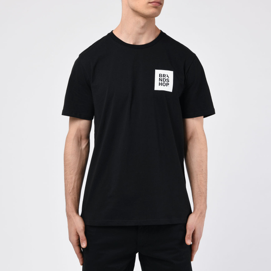 Мужская футболка BRANDSHOP Square Logo Black