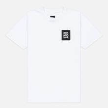 Мужская футболка BRANDSHOP Square Logo White фото- 0