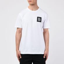 Мужская футболка BRANDSHOP Square Logo White фото- 2