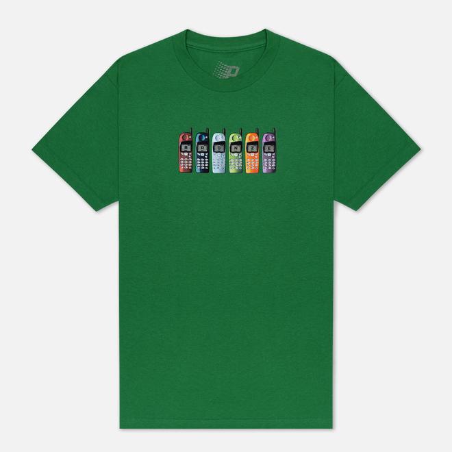 Мужская футболка Bronze 56K Burner Phone Kelly Green