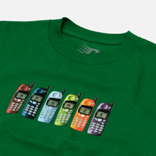 Мужская футболка Bronze 56K Burner Phone Kelly Green фото- 1