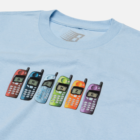 Мужская футболка Bronze 56K Burner Phone Powder Blue