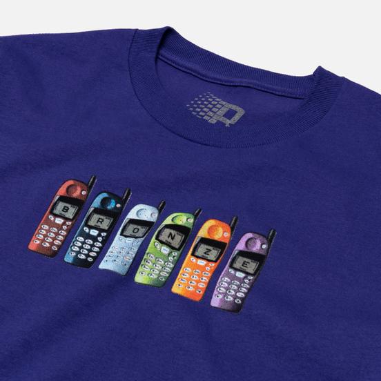 Мужская футболка Bronze 56K Burner Phone Purple