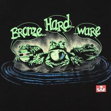 Мужская футболка Bronze 56K Frog Black фото- 2