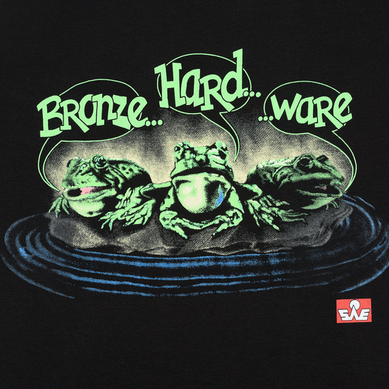 Мужская футболка Bronze 56K Frog Black