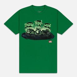 Мужская футболка Bronze 56K Frog Kelly Green