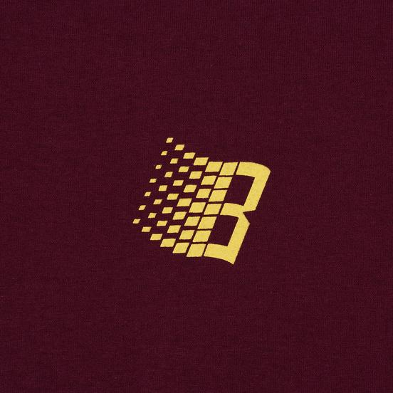 Мужская футболка Bronze 56K International Burgundy