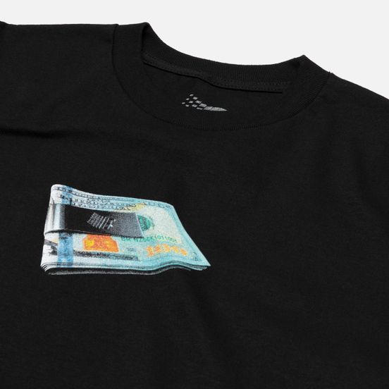 Мужская футболка Bronze 56K Money Clip Black