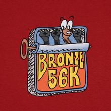 Мужская футболка Bronze 56K Sardines Cardinal фото- 2