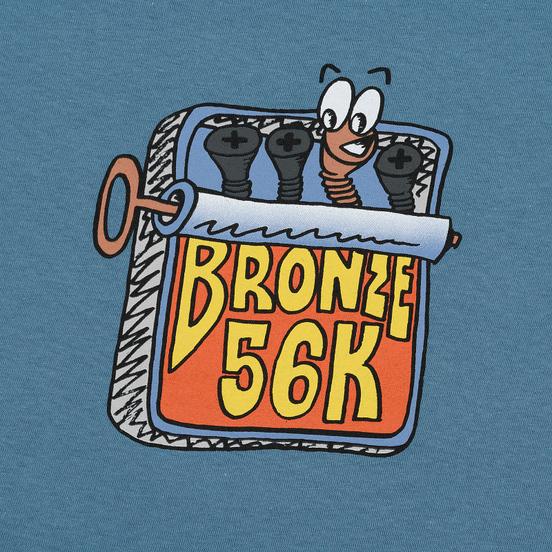 Мужская футболка Bronze 56K Sardines Slate
