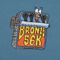 Мужская футболка Bronze 56K Sardines Slate фото - 2
