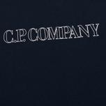 Мужская футболка C.P. Company Block Logo Navy фото- 2