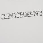 Мужская футболка C.P. Company Block Logo Off White фото- 2