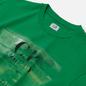 Мужская футболка C.P. Company Blurred Paint Logo Jelly Bean фото - 1