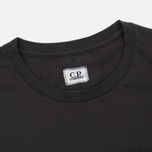 Мужская футболка C.P. Company C.P. Label Print Dark Fog Grey фото- 1