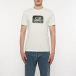Мужская футболка C.P. Company C.P. Label Print Tapioca фото- 3