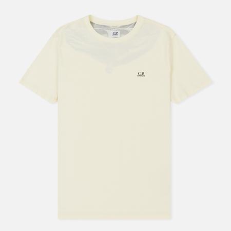 Мужская футболка C.P. Company Crew Neck Goggle Print Back Gauze White
