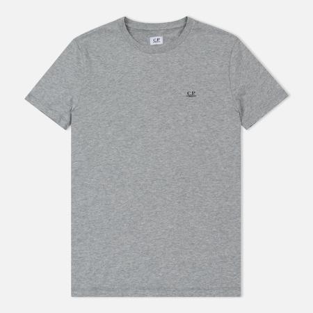 Мужская футболка C.P. Company Crew Neck Goggle Print Back Grey Melange