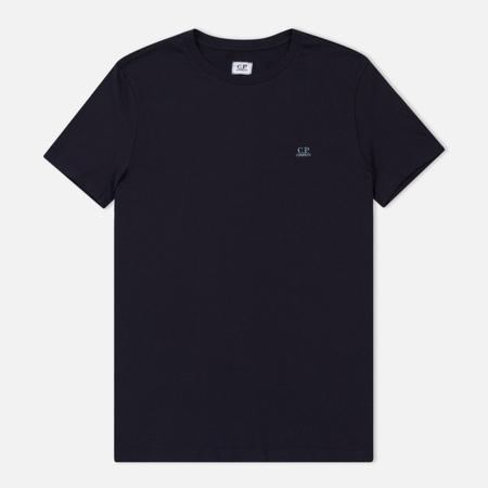 Мужская футболка C.P. Company Crew Neck Goggle Print Back Total Eclipse