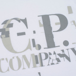 Мужская футболка C.P. Company Digital Print Logo Optic White фото- 2