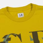 Мужская футболка C.P. Company Digital Print Logo Primrose фото- 1