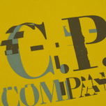 Мужская футболка C.P. Company Digital Print Logo Primrose фото- 2