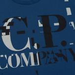 Мужская футболка C.P. Company Digital Print Logo True Navy фото- 2