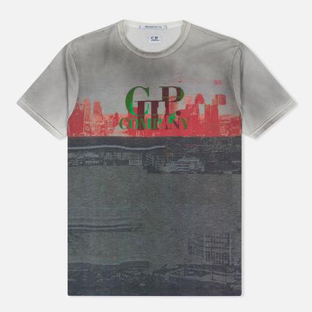 Мужская футболка C.P. Company Digital Spray Printed 03 Multicolor