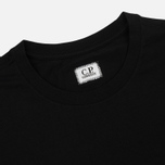 Мужская футболка C.P. Company Front Mini Logo Caviar фото- 1