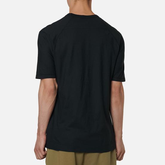 Мужская футболка C.P. Company Garment Dyed Chest Logo Black