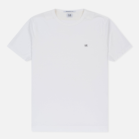 Мужская футболка C.P. Company Garment Dyed Optic White