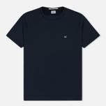 Мужская футболка C.P. Company Garment Dyed Total Eclipse фото- 0