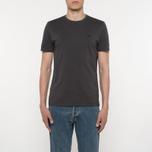 Мужская футболка C.P. Company Goggle Hood Back Print Dark Fog Grey фото- 4