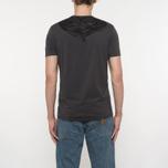 Мужская футболка C.P. Company Goggle Hood Back Print Dark Fog Grey фото- 5