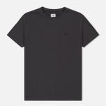 Мужская футболка C.P. Company Goggle Hood Back Print Dark Fog Grey фото- 0