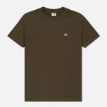 Мужская футболка C.P. Company Goggle Hood Back Print Dark Olive фото- 0