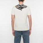 Мужская футболка C.P. Company Goggle Hood Back Print Tapioca фото- 5